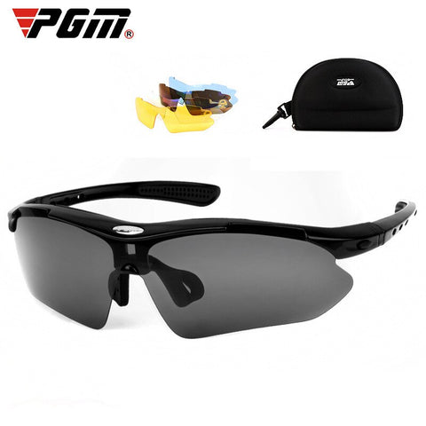 PGM Golf Sunglasses Polarizers W/5 Changeable Lens