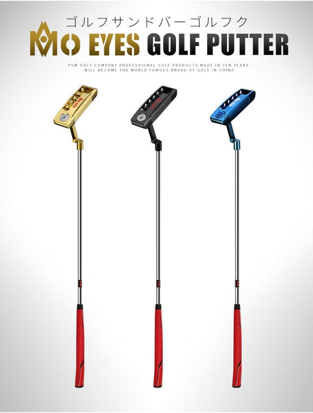 New! Golf Putter Blue/Golden Putter Right Handed