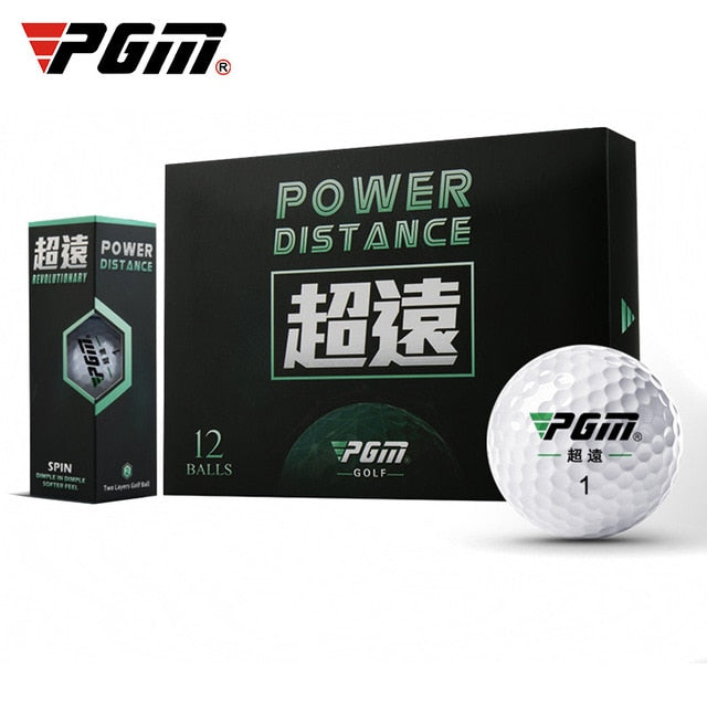 PGM Golf Ultra-long Ball Balls 12 Balls/Box