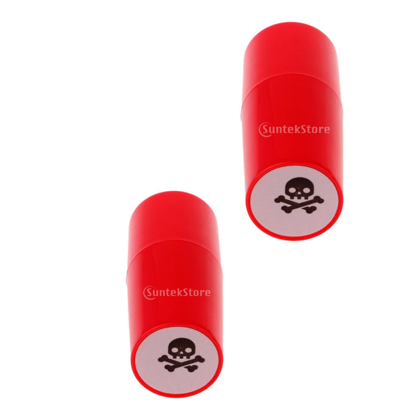 2pcs Colorfast Quick-dry Golf Ball Stamp