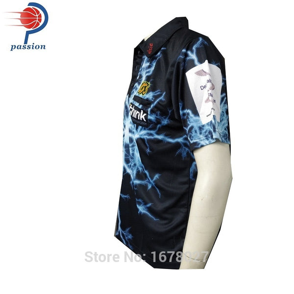 Men's Golf Quick Dry Printed Polo Shirt Custom