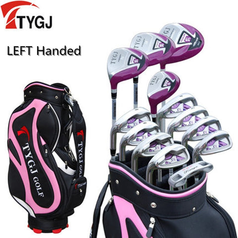 Women's 13-Pieces Golf Set W/Bag Left Handed