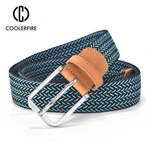 Hot Colors Casual Knitted Belt