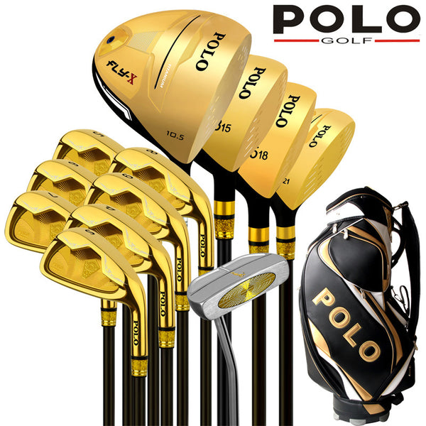 POLO Titanium Alloy Rod Driver Complete Full Set W/Graphite Shafts