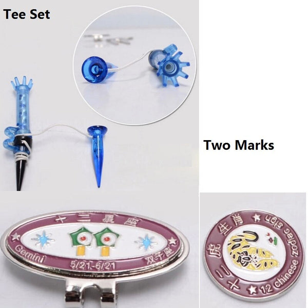 Golf Training Set Ball Mark