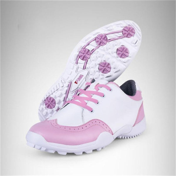 2018 British Style Women Golf Shoes