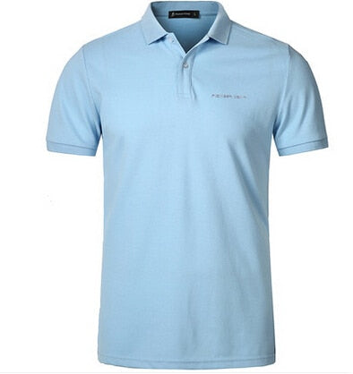 Men's Polo Golf Shirt Brand Cotton