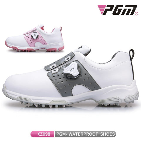 Women's PGM Golf Sneakers Lightweight Knob Buckle