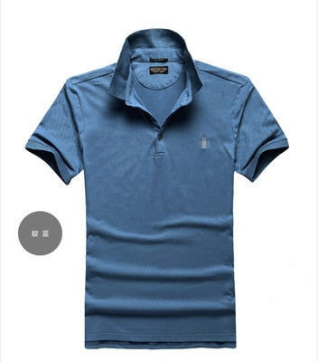 Men's Polo Shirt High Quality Cotton Short Sleeve