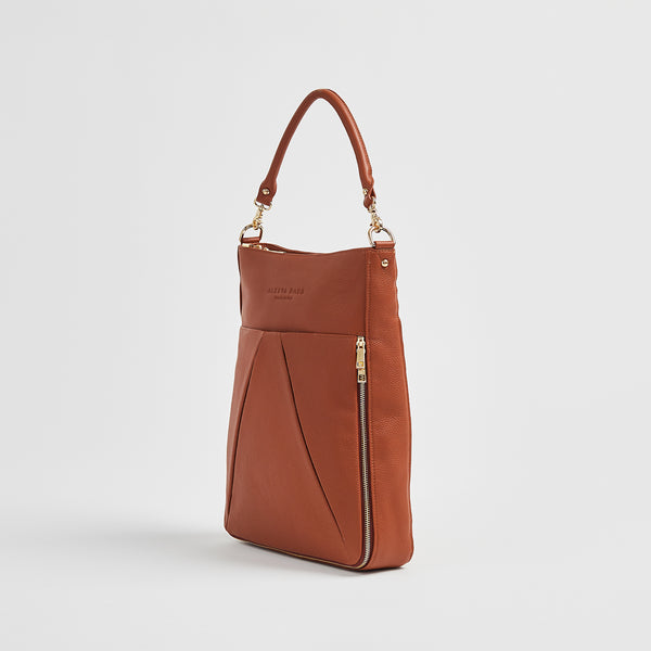 Dorothy Lee - Everyday Bag | Brandy With Gold Hardware