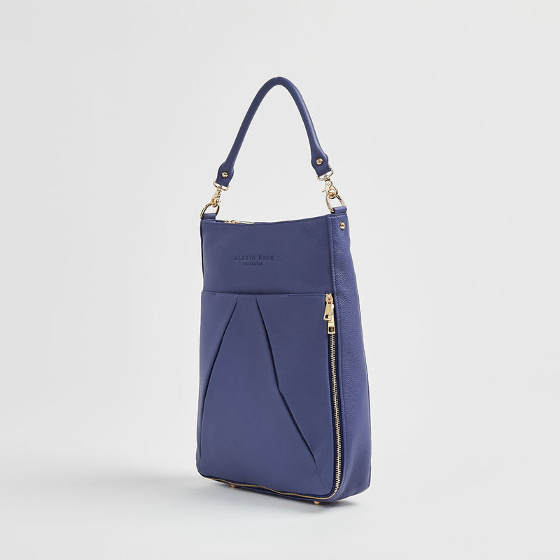 Dorothy Lee - Everyday Bag | Indigo With Gold Hardware