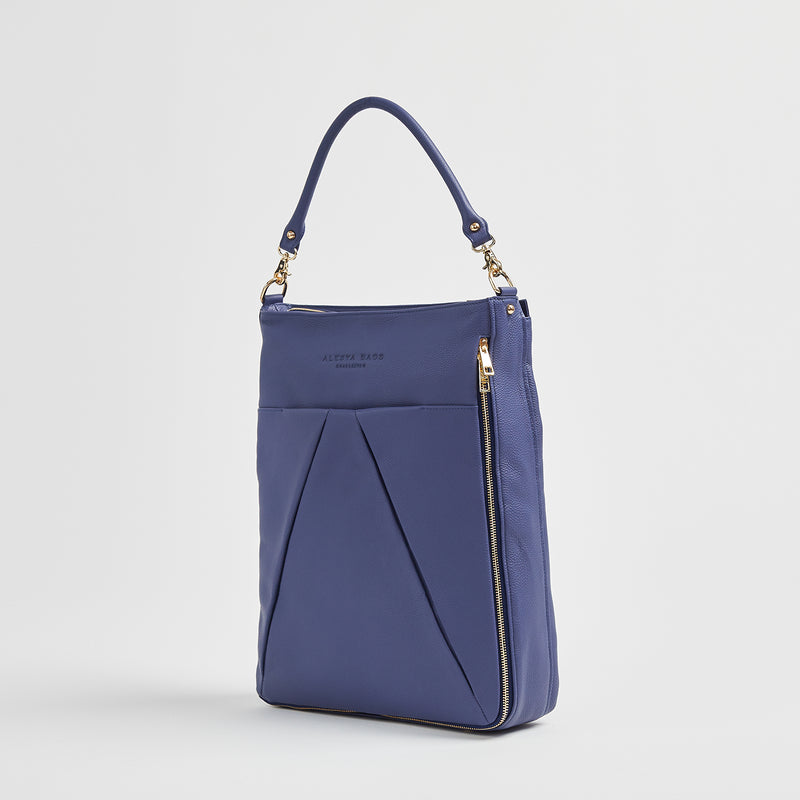 Maribelle - Travel Bag | Indigo With Gold Hardware