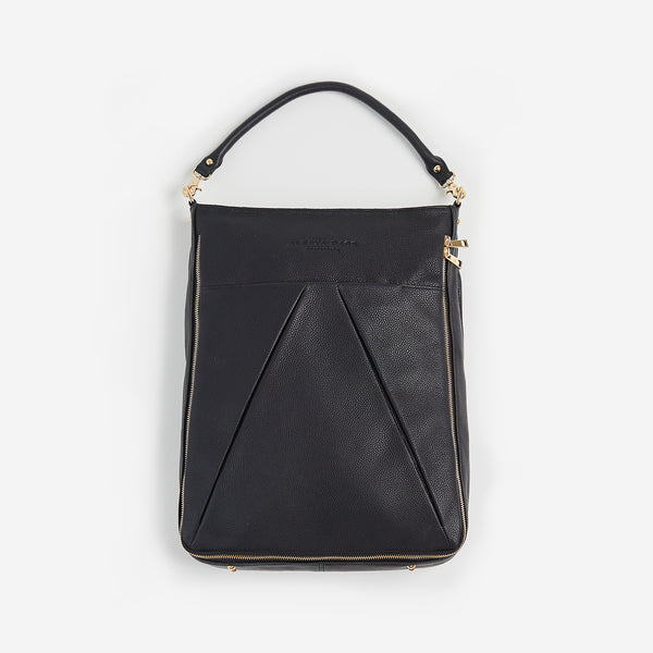 The Maribelle from Alesya Bags is a leather laptop bag is designed to be a workbag that's as fashionable as you are