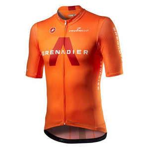 CASTELLI Grenadier Ineos Competizione Jersey - BRILLIANT ORANGE