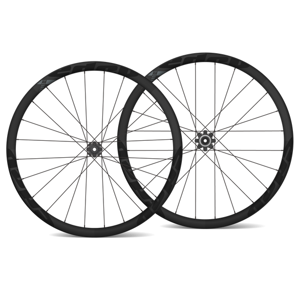EDCO Carbon THREE-4 Disc Wheelset - 34mm/34mm