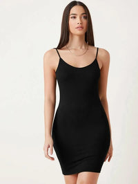Women Bodycon Solid Dress