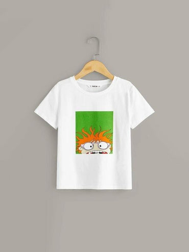 Boys Cartoon Print Tee