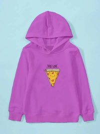 Girls Cartoon & Letter Graphic Hoodie