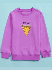 Girls Cartoon & Letter Graphic Sweatshirt