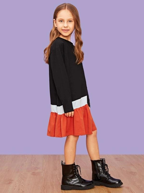 Girls Cut And Sew Dress