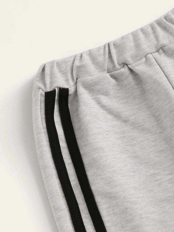 Toddler Boys Side Stripe Sweatpants