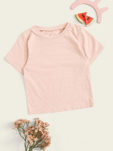 Toddler Girls Short Sleeve Top
