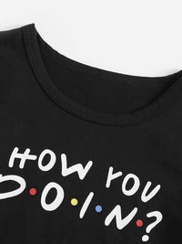 Toddler Girls Slogan Graphic Tee