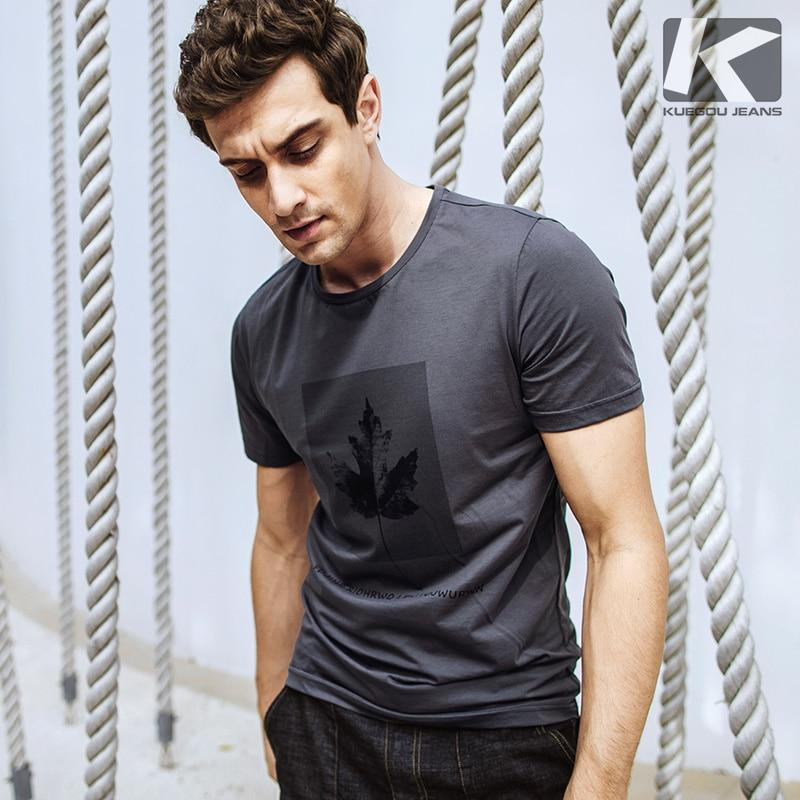 Men High Quality Cotton Fashion Short Sleeve T-Shirt
