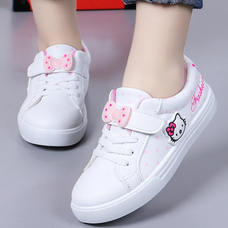 Cute Kitty Girl Casual Shoes Fashion Design Sneakers