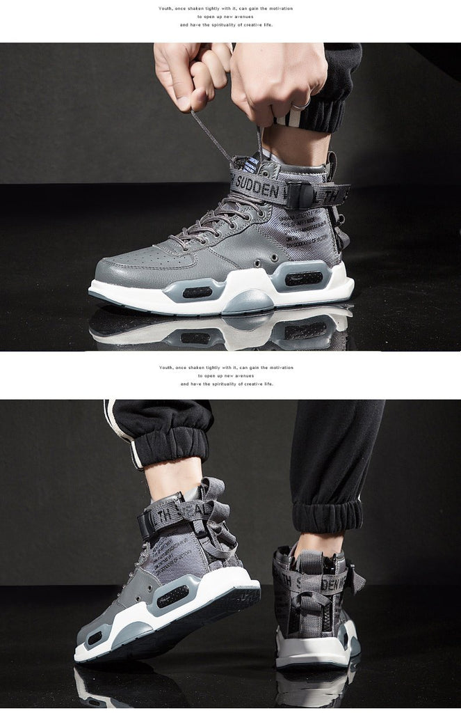 Hot Fashion Limited Version Men High Top Running Sports Shoes