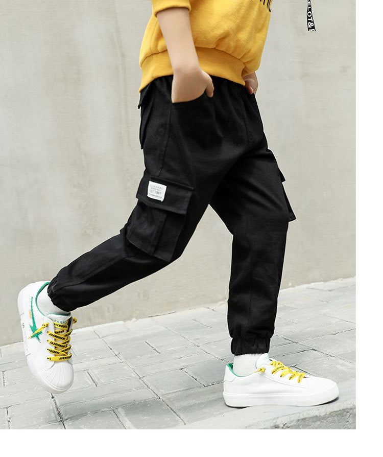 Fashion Style Boys Casual Sports Cargo Pants