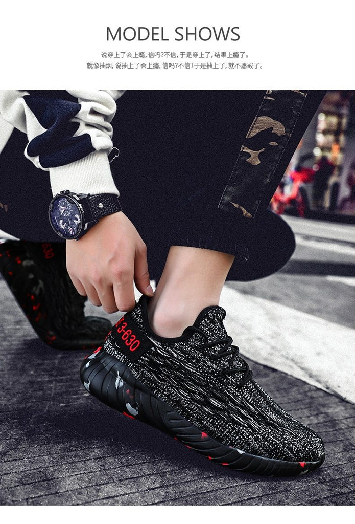 Men Luxury Fashion Camouflage Sole Coconut Shoes