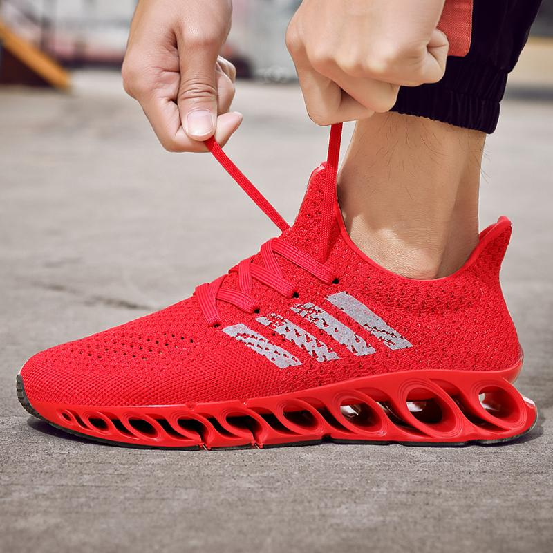 Hot Selling Men Breathable Fashion Blade Sneakers