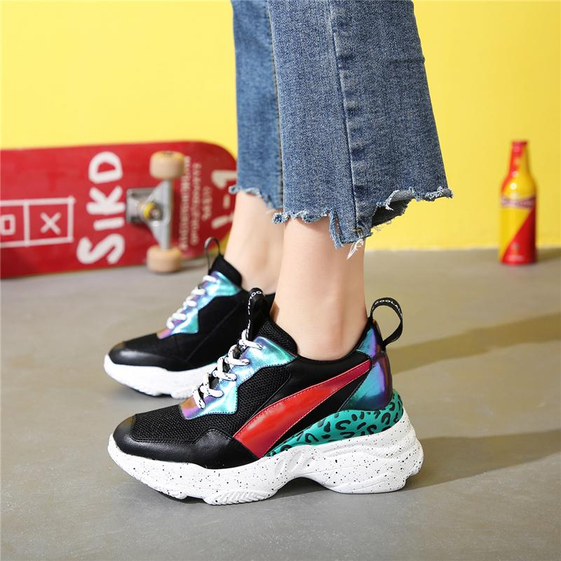 New Arrival Luxury Fashion Women Platform Sneakers
