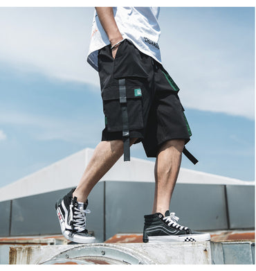 Fashion Style Men Loose Hip Hop Street Harem Shorts