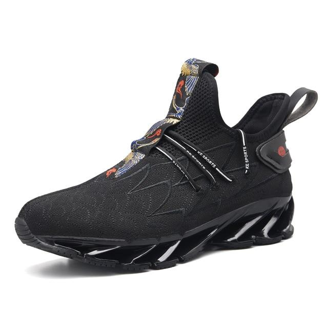 Men Blade Sneakers Cushioning Outdoor Luxury Fashion Sport Shoes
