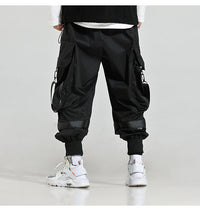 Fashion Streetwear Men Big Pocket Harem Pants