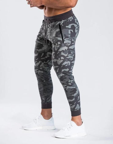Men Hoodies and Sweatpants Set Fashion Design Camo High Street Set