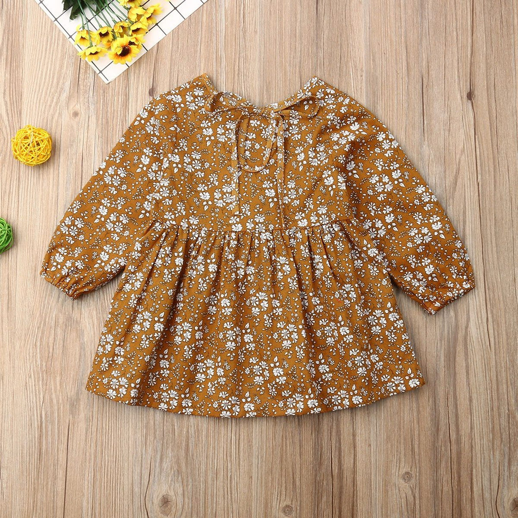 Baby Girl Dress Infant Cotton Flower Dress