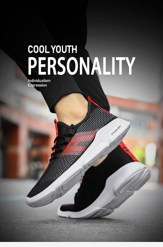 Men Sneakers Fashion Brand Designer Air Mesh Breathable Casual Shoes