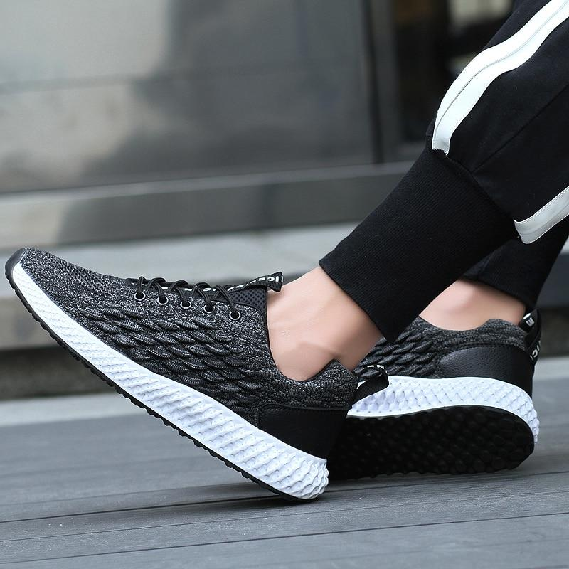 Men Casual Shoes Top Brand Breathable Mesh Flats Sneakers