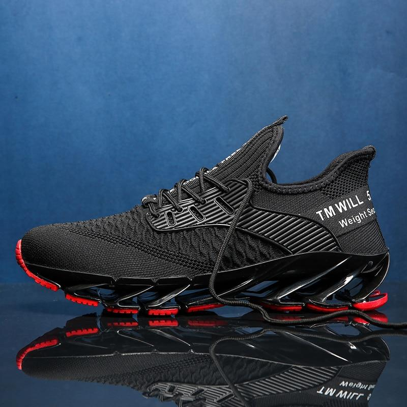 Running Shoes For Men Breathable Athletic Blade Sneakers