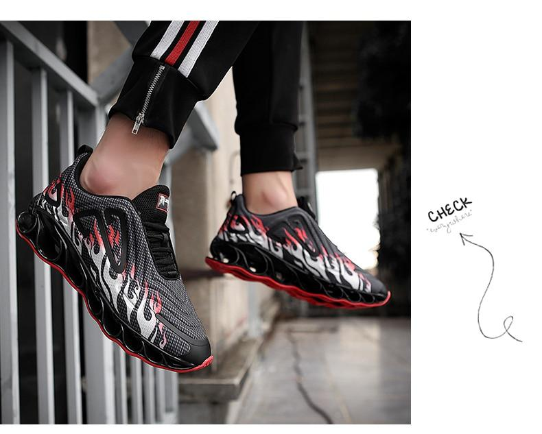 Men Blade Sneakers Outdoor Breathable Trainers Sport Shoes