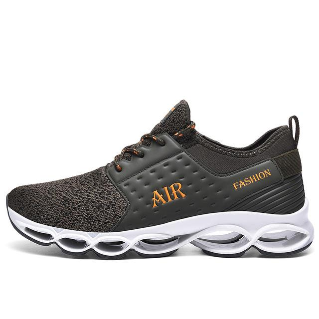 Men Blade Sneakers Lightweight Cushioning Professional Lace Up Sport Shoes