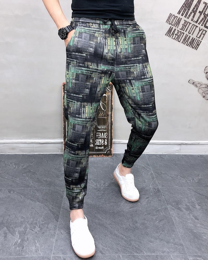 New Treny Fashion Men Casual Pants Streetwear Hip Hop Joggers Pants