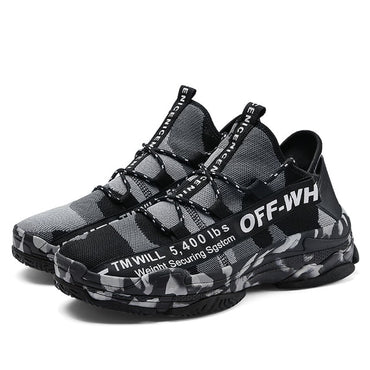 Fashion Men Camouflage Breathable Sneakers