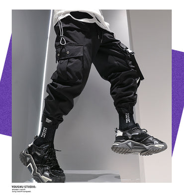 Hip Hop Style Men Fashion Baggy Harem Pants