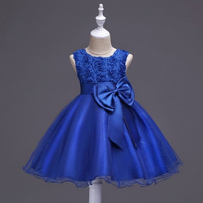 Girls Party Dress Elegant Design Formal Prom Princess Dress