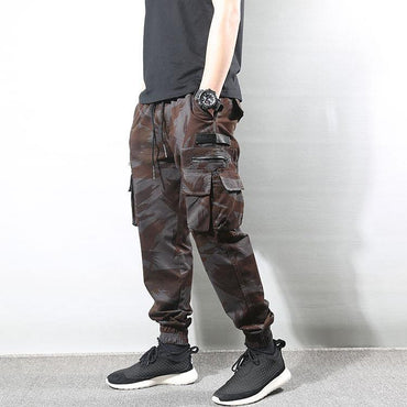 Fashion Streetwear Men High Quality Camouflage Military Cargo Pants