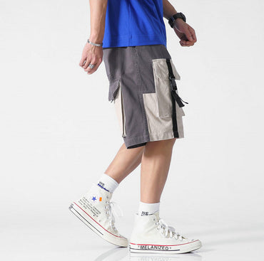 Men Streetwear Casual Hip Hop Pockets Shorts